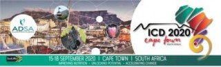 SAVE THE DATE - ICD 2020 Cape Town South Africa
